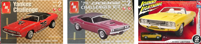 AMT '70 Challenger kits