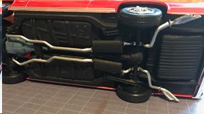 1964 Pontiac GTO exhaust