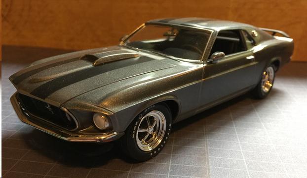 Revell 1970 Ford Mustang Boss 302 kit