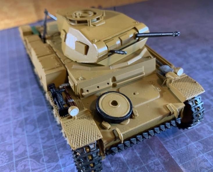 Tamiya Panzer Kampfwagen II Ausf F/G