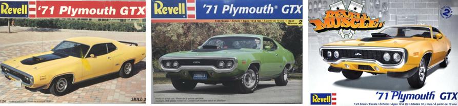 1969 Plymouth GTX Road Runner 1//25 hood body glass chrome bumper grill tail lamp