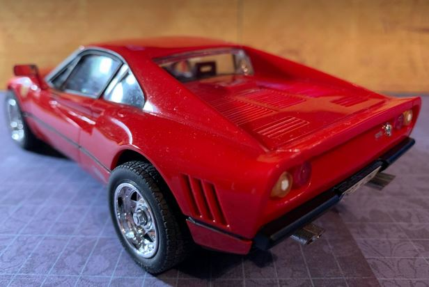 Testors 1985 Ferrari (288) GTO kit