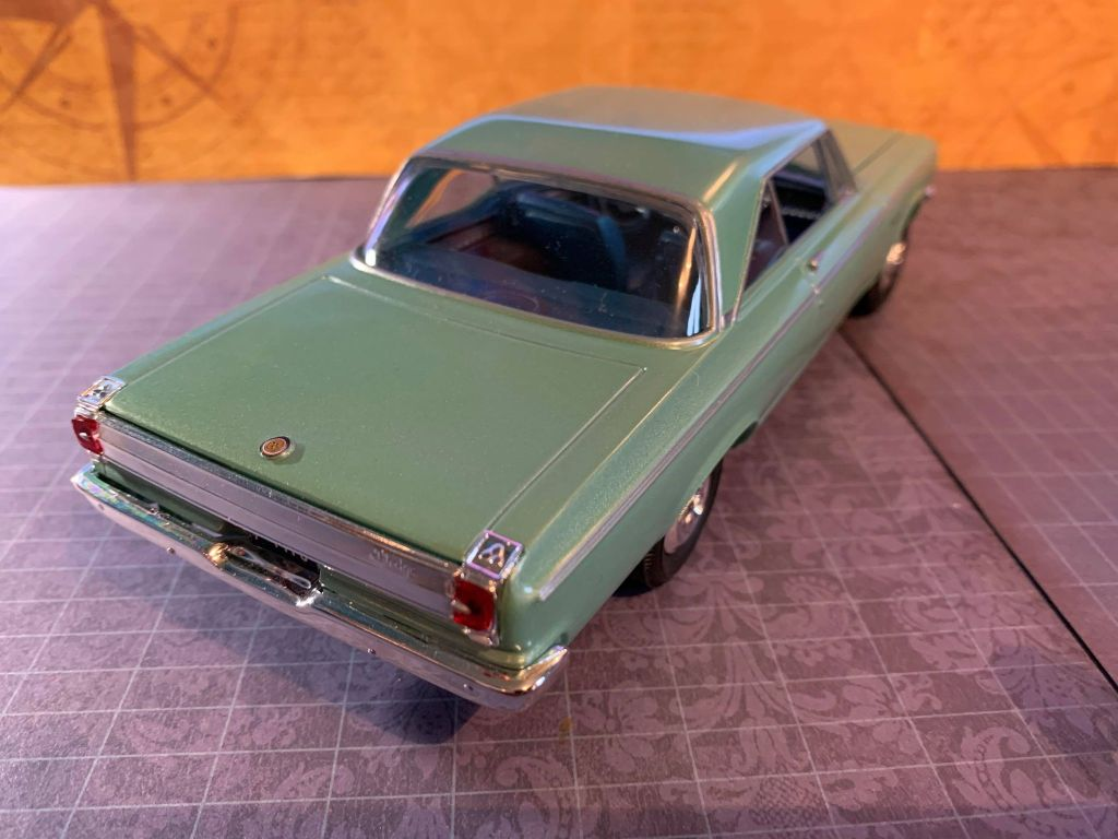 AMT Snap-it 1965 Dodge Coronet 500 kit