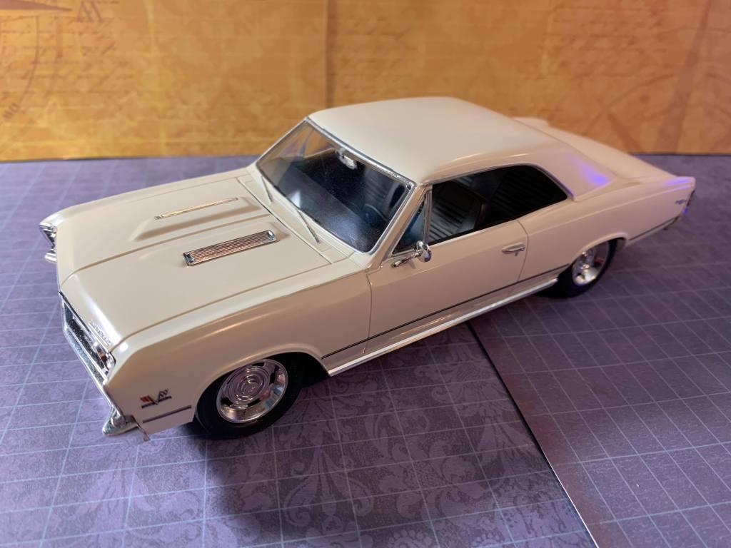 AMT 1967 Chevrolet Chevelle SS396 kit