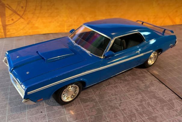 AMT 1969 Mercury Cougar Eliminator kit