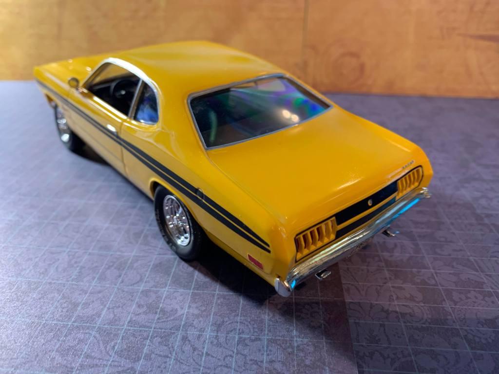 1971 Dodge Demon MPC kit rear