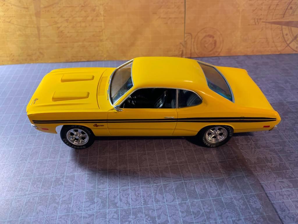 1971 Dodge Demon MPC kit side view
