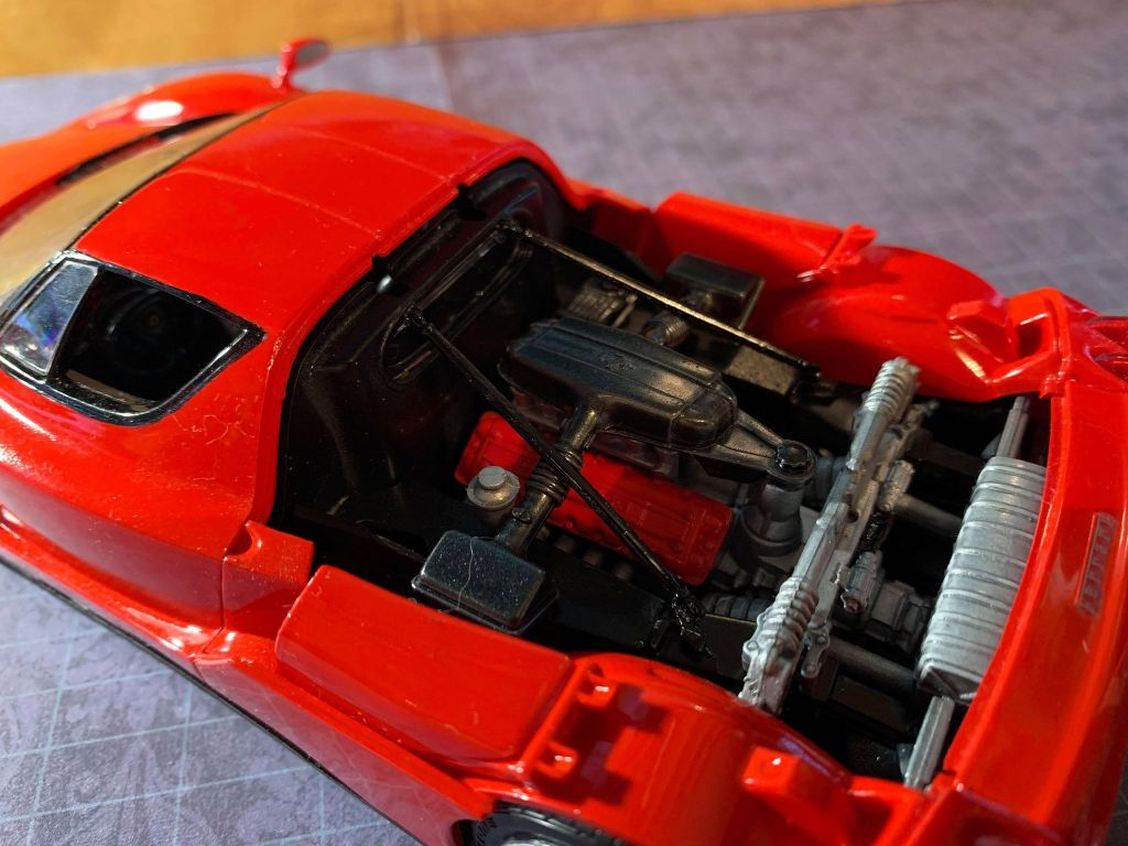 2004 Ferrari Enzo 650hp V12 engine
