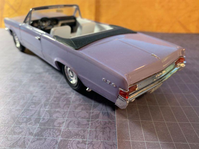 1965 Pontiac GTO rear quarter