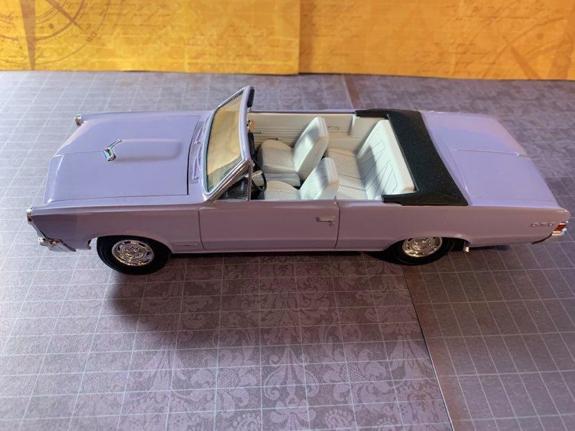 1965 Pontiac GTO side top view