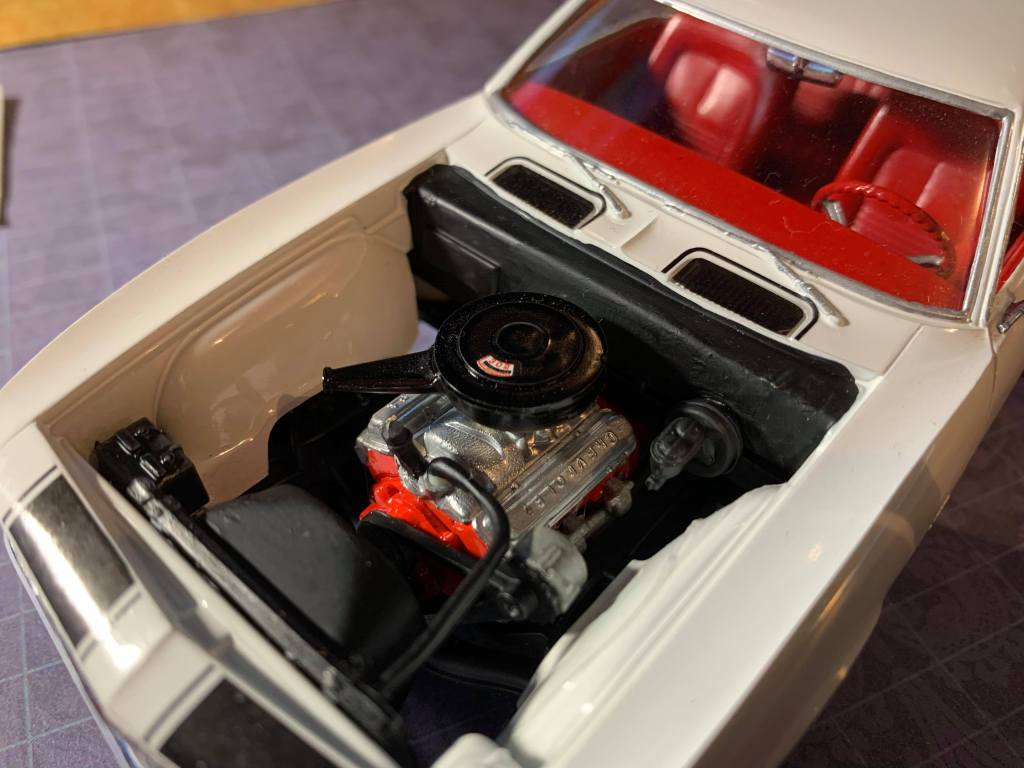 1967 Camaro 302ci engine by AMT