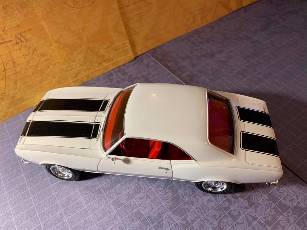 1967 Camaro Z-28 top view. Love the stripe kit.