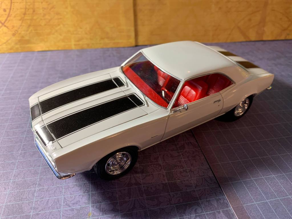 1967 Chevy Camaro AMT 1/25 profile