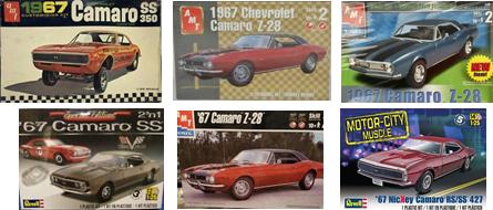 1967 AMT Camaro kits